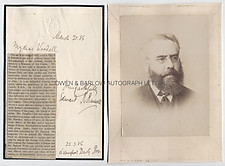 EDWARD R. RUSSELL (1834-1920) Autograph Letter Signed