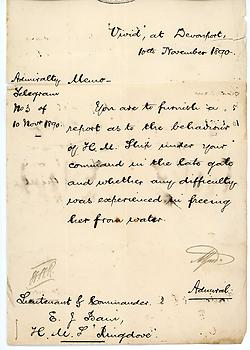 PRINCE ALFRED, DUKE OF SAXE-COBURG & GOTHA (1844-1900) Document Signed