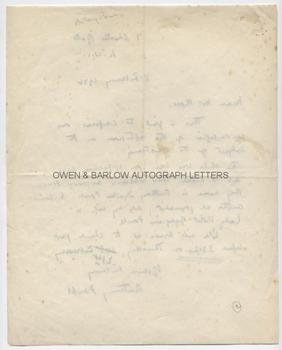 ANTHONY POWELL (1905-2000) Autograph Letter Signed