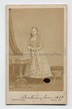 PRINCESS BEATRICE (1857-1944) Photograph Signed