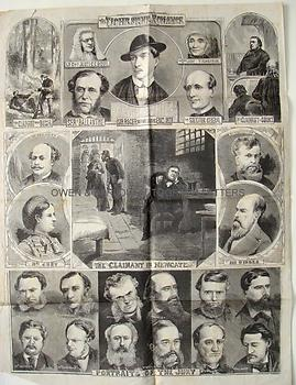 THE TICHBORNE CLAIMANT Poster Broadsheet