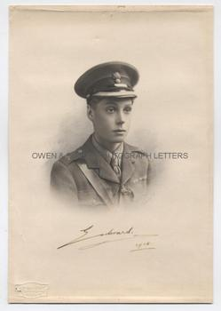 EDWARD VIII (1894-1972) Photograph Signed