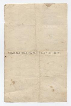 MARCEL PETIOT (1897-1946) Autograph Prescription Signed