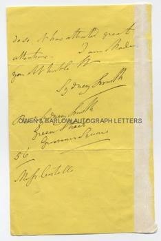 SYDNEY SMITH (1771-1845) Autograph Letter Signed