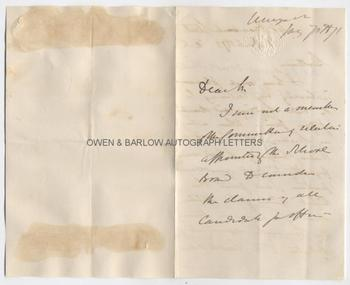 THOMAS HENRY HUXLEY (1825-1895) Autograph Letter Signed