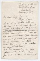 ADELAIDE PROCTER (1825-1864) Autograph Letter Signed
