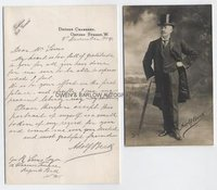 ADOLF BECK (1841-1909) Autograph Letter Signed