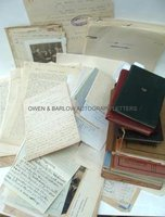 CYRIL BURT (1883-1971) An archive of documents formerly belonging to the family of Cyril Burt