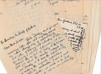 DAVID GASCOYNE (1916-2001) Autograph Manuscript and Autograph Letters Signed