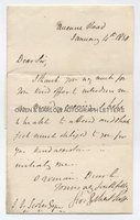 GEORGE GILBERT SCOTT (1811-1878) Autograph Letter Signed