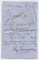 SIR HENRY THOMPSON (1820-1904) Autograph Prescription Signed