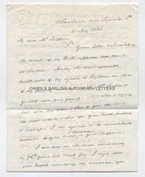 JAMES BUCHANAN (1791-1868) Autograph Letter Signed