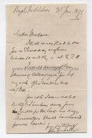 JOHN TYNDALL (1820-1893) Autograph Letter Signed