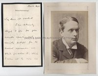 LORD ROSEBERY (1847-1929) Autograph Letter Signed