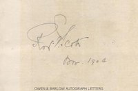 ROBERT FALCON SCOTT (1868-1912) Autograph Signature