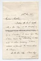 SIR ROWLAND HILL (1795-1879) Autograph Letter Signed