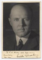 WALTER GIESEKING (1895-1956) Photograph Signed