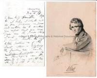 WILLIAM POWELL FRITH (1819-1909) Autograph Letter Signed